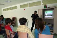Educación vial en Las Rozas