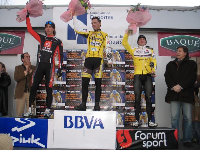 El podio de la categoría profesionales. Foto: Jaime Oliva