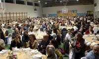La cena congregó a un gran número de profesores. Foto: Ayuntamiento Las Rozas