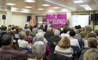El homenaje a los voluntarios congregó a numerosos vecinos de Las Rozas