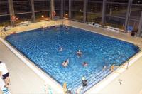 Nueva piscina cubierta del Polideportivo de Navalcarbón.