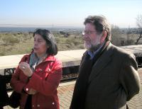 Inés Sabanés y Luis Miguel Urban