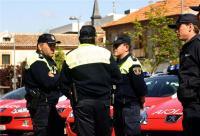 Miembros de la Policía Local de Las Rozas