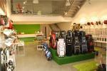 Interior de la tienda Golf & Cia