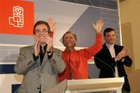 Mitin del PSOE en Las Rozas. Foto: PSOE