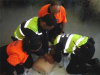 Policía-Samer Curso Primer Alertante.
