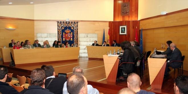 Un momento del Pleno