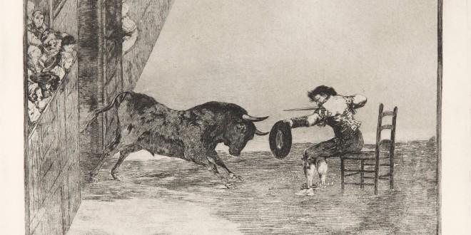 Grabado de Goya